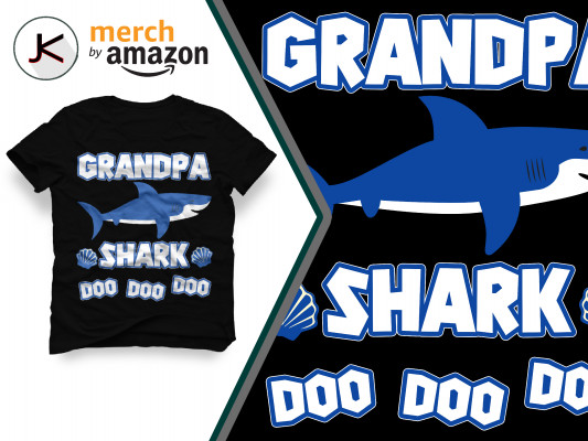 i sell and create awesome designs of t-shirts for merch by amazone